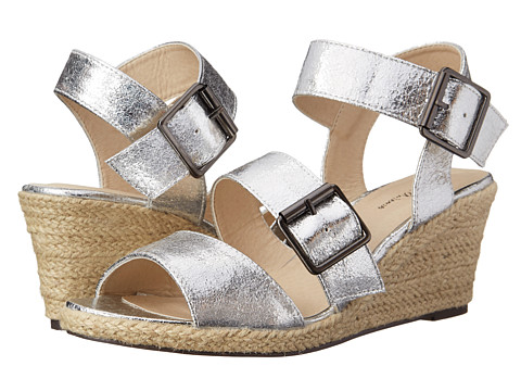 Michael Antonio - Goren - Metallic (Silver) Women's Wedge Shoes