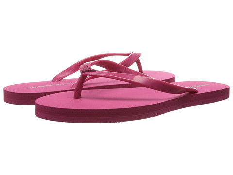 Emporio Armani - Mix and Match Low Flip-Flop (Magenta) Women's Sandals
