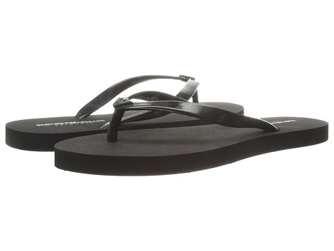 Emporio Armani - Mix and Match Low Flip-Flop (Black) Women