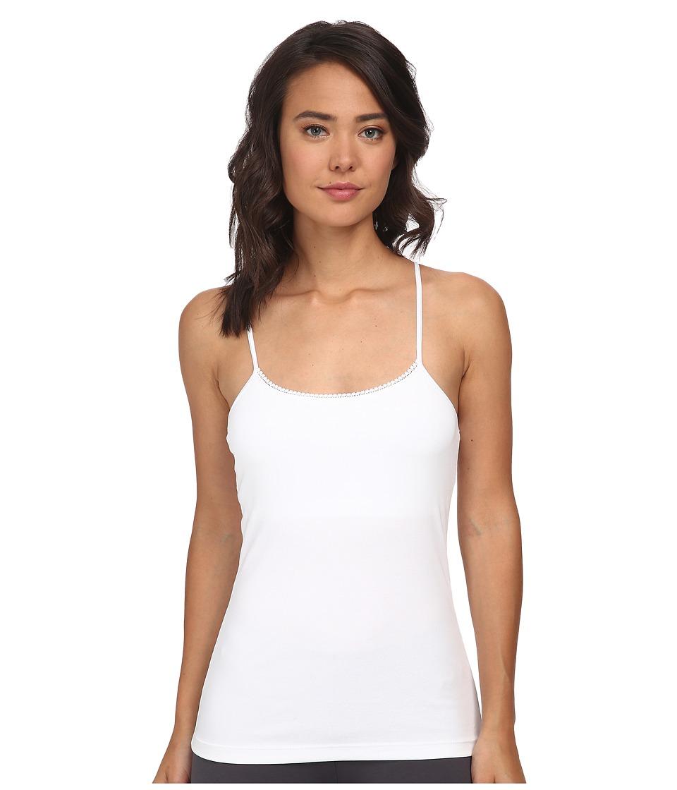 OnGossamer - Cabana Cotton Shelf Cami (White) Women