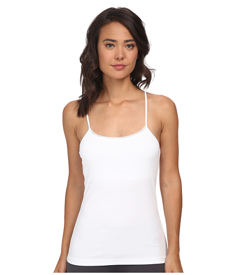 OnGossamer - Cabana Cotton Shelf Cami (White) Women