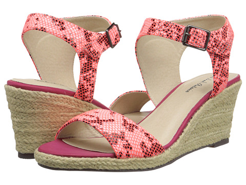 Michael Antonio - Goss - Reptile (Hot Pink) Women's Wedge Shoes