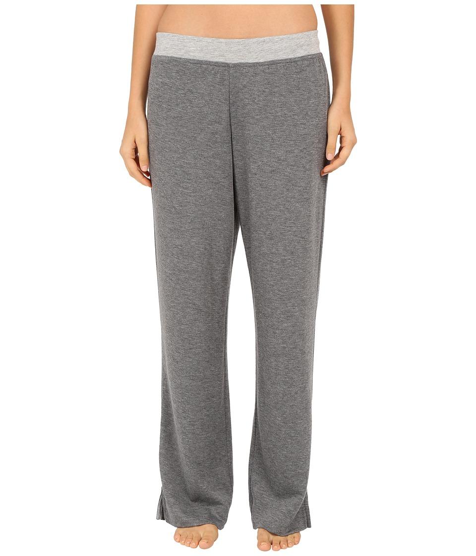 Carole Hochman - Double Faced Jersey Long Pants (Charcoal Heather) Women's Pajama