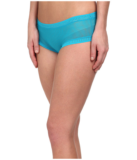 OnGossamer - Gossamer Mesh Boyshort (Waterfall) Women's Underwear