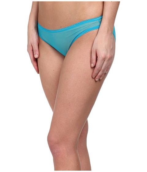 OnGossamer - Solid Gossamer Mesh Hip Bikini 3202 (Waterfall) Women