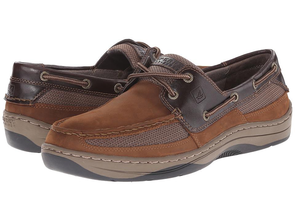 Sperry - Tarpon 2-Eye (Brown/Buc Brown) Men's Shoes