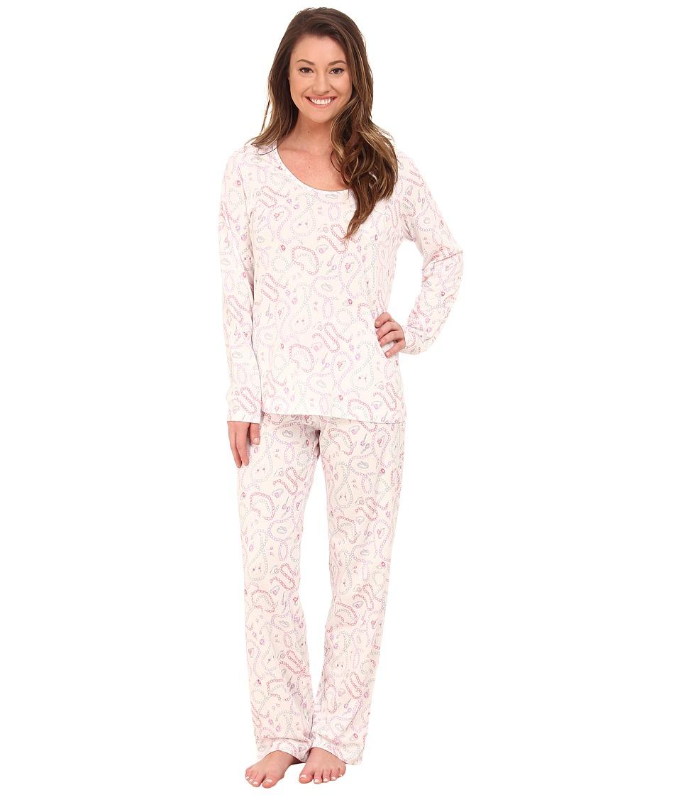Carole Hochman - Printed Long Sleeve Pajama (Vintage Baubles) Women