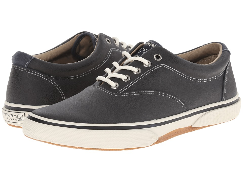 Sperry Top-Sider Halyard LL CVO Leather (Black) Men