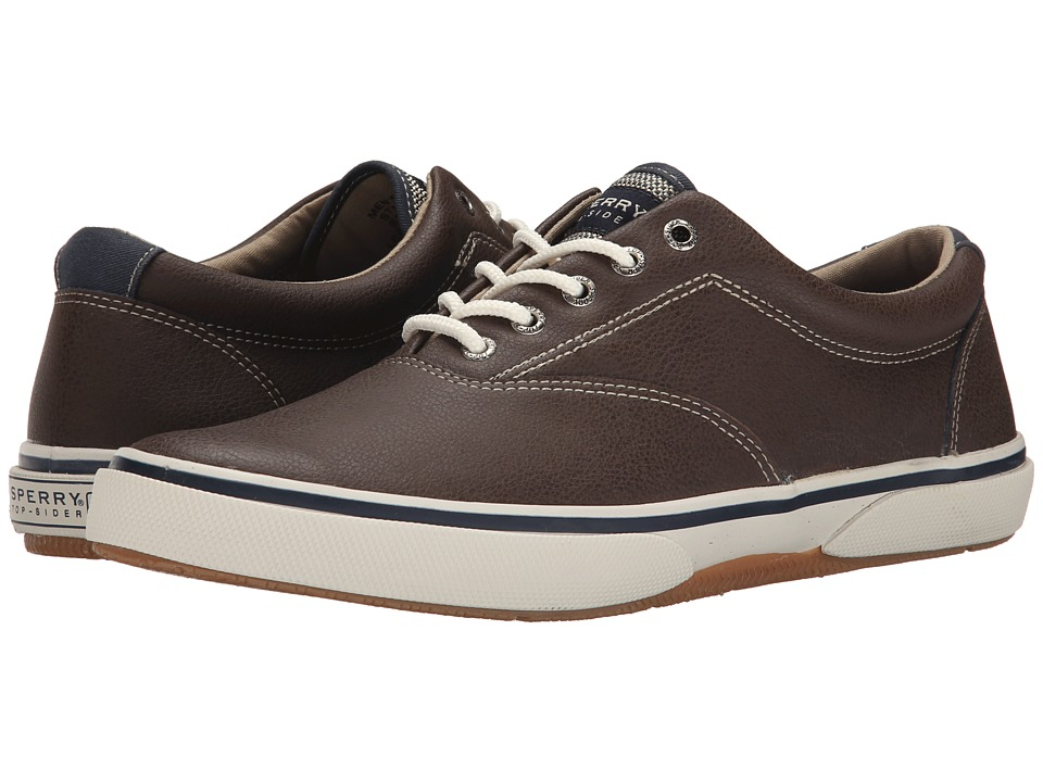 Sperry Top-Sider Halyard LL CVO Leather (Brown) Men