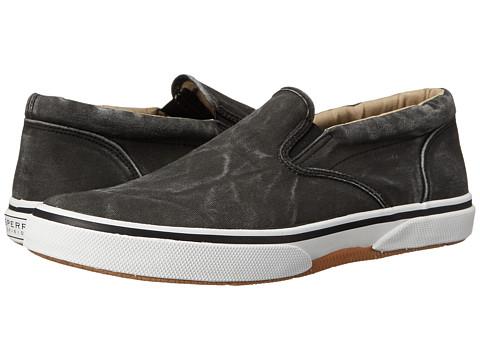 Sperry Top-Sider - Halyard Twin Gore Slip On (Black) Men