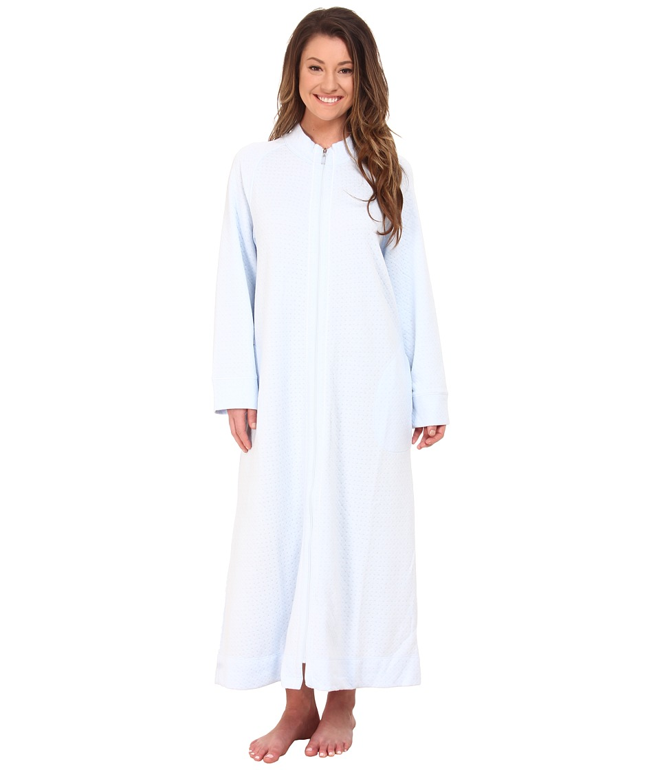 Carole Hochman - Zip Robe (Cloud Blue) Women's Robe