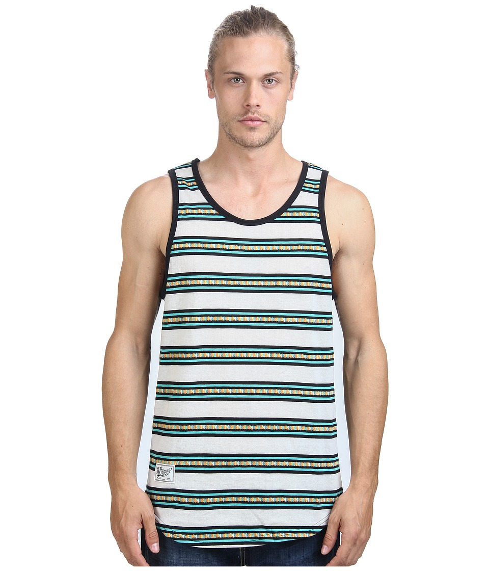 L-R-G - Mozambeezy Tank Top (Off White/Multi) Men's Sleeveless