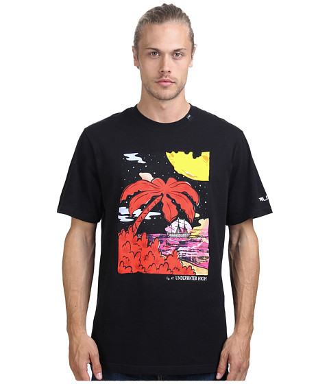 L-R-G - Figure 47 Tee (Black) Men's Short Sleeve Pullover