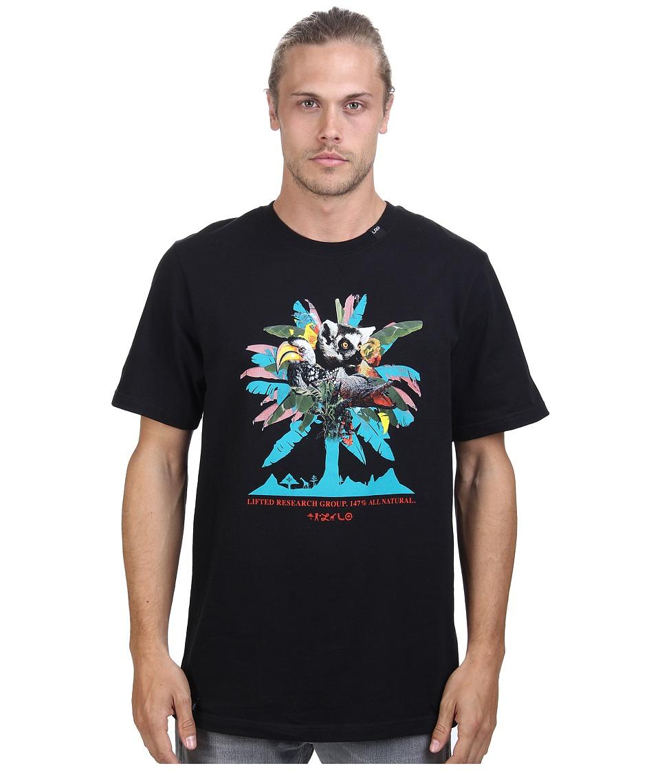 L-R-G - All Natural Tee (Black) Men's T Shirt