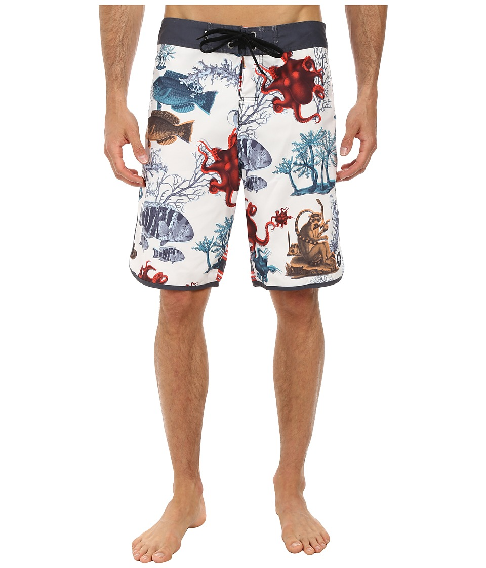 L-R-G - Under Water Boardshorts (Natural) Men's Swimwear