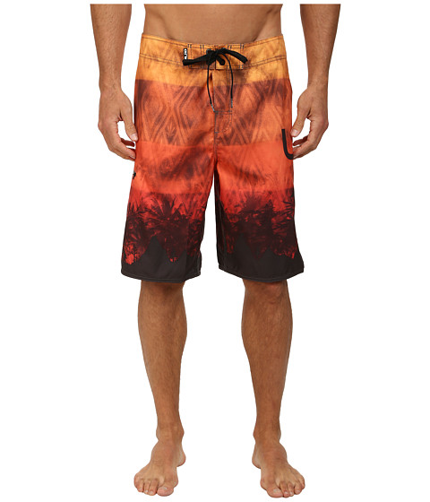 L-R-G - Plant Nation Boardshorts (Gold) Men's Swimwear
