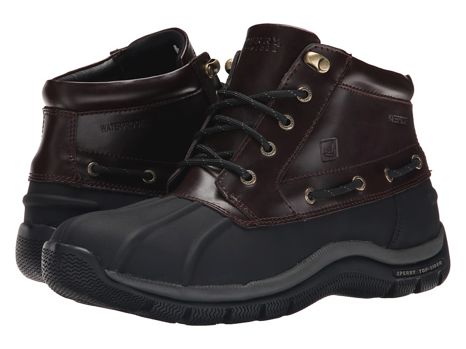 Sperry Top-Sider Glacier Chukka (Black/Amaretto) Men