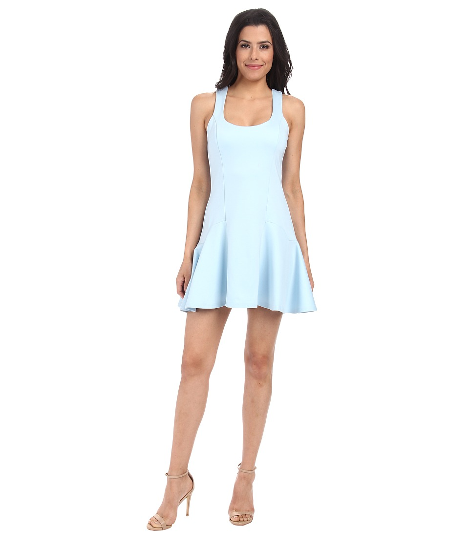 Bardot - Queenie Flip Hem Sleeveless Dress (Santorini Blue) Women's Dress