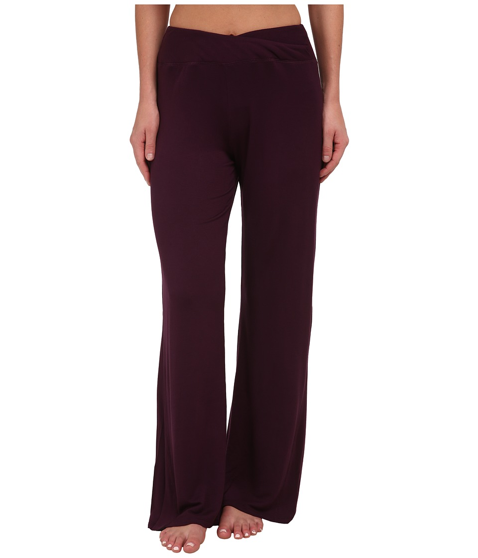 Midnight by Carole Hochman - Lounge Capsule Lounge Pant (Black Currant) Women's Pajama
