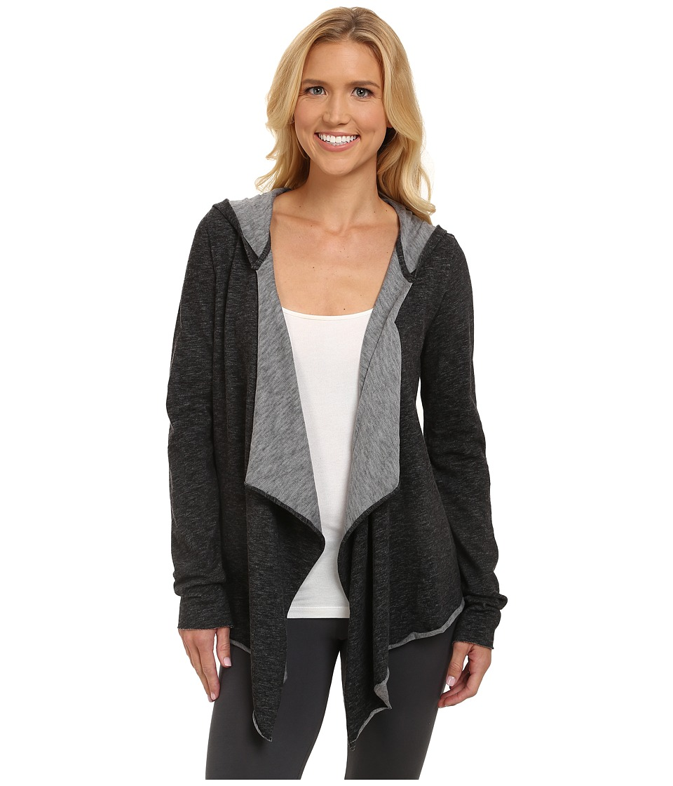 Midnight by Carole Hochman - Lounge Capsule Cardigan (Black) Women's Pajama