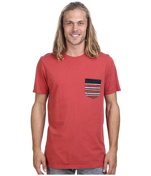 Rip Curl - Elmwood Custom Tee (Baked Apple) Men's T Shirt