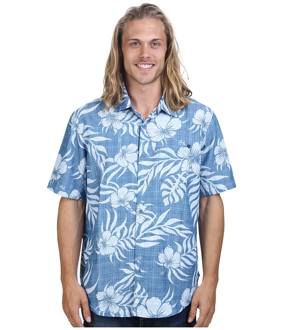 Rip Curl - Saguaro Short Sleeve Shirt (Blue Shadow) Men