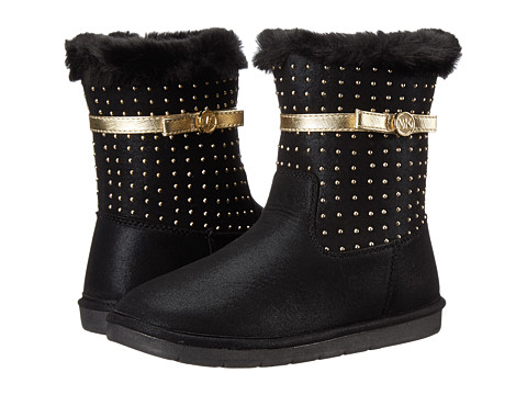 MICHAEL Michael Kors Kids - Grace Tiff (Little Kid/Big Kid) (Black) Girls Shoes