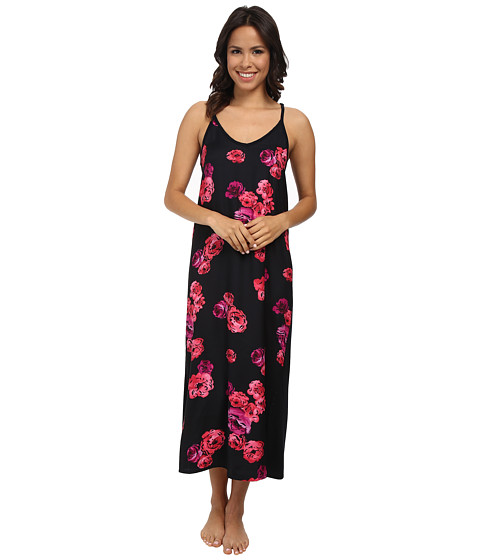 Midnight by Carole Hochman - Floating Floral Maxi (Floating Floral) Women