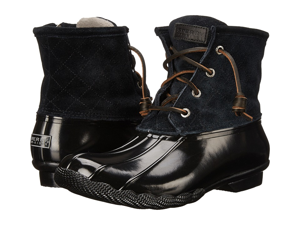 Sperry - Saltwater (Black) Women's Lace-up Boots