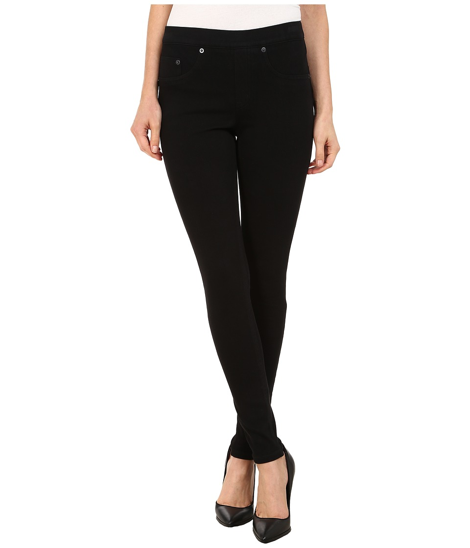 Spanx - Jean-ish Twill Shaping Legging (Very Black) Women's Casual Pants