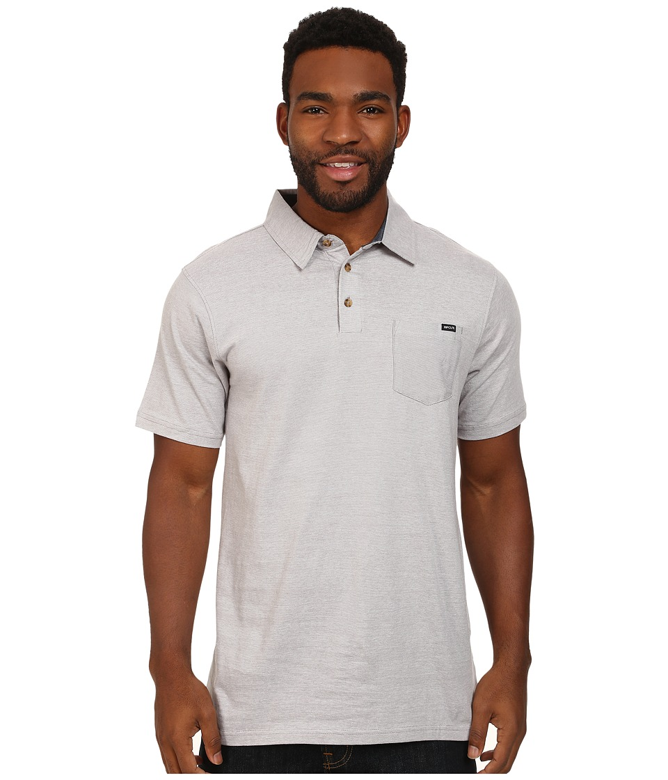 Rip Curl - Country Club Polo (Medium Grey) Men's Clothing