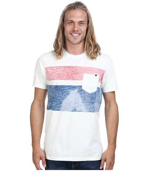 Rip Curl - Bentley Custom Tee (Off White) Men's T Shirt