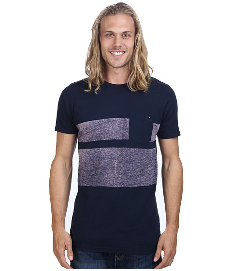 Rip Curl - Bentley Custom Tee (Dark Denim) Men