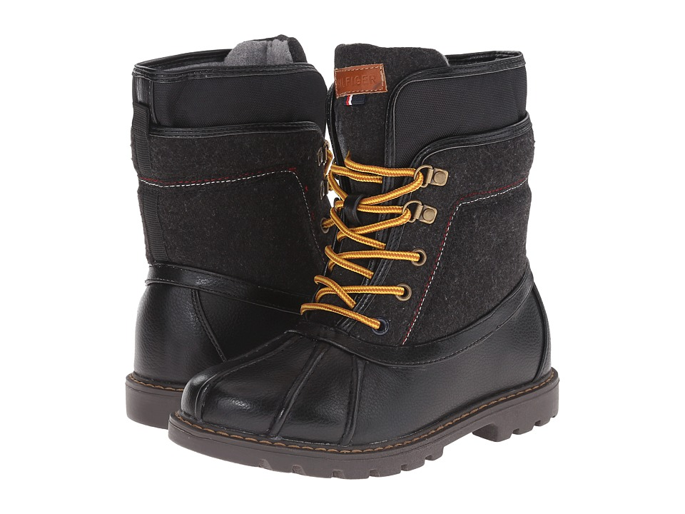 Tommy Hilfiger Kids - Jason Duck Boot (Little Kid/Big Kid) (Black) Boys Shoes