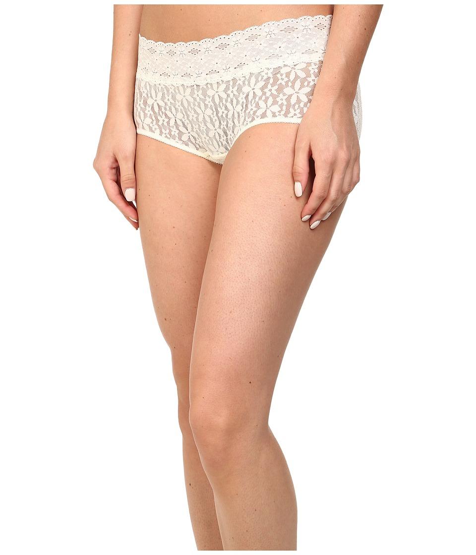 Wacoal - Halo Lace Boy Short (Ivory) Women's Underwear