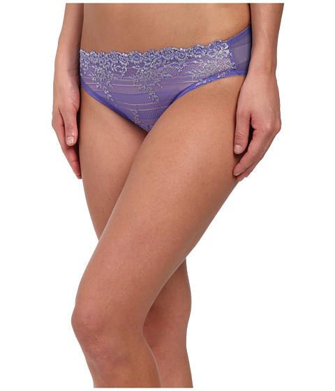 Wacoal - Embrace Lace Bikini (Blue Iris/Lurex) Women