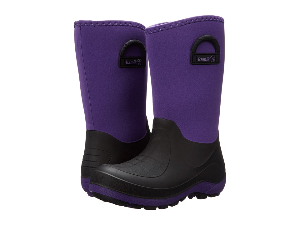 Kamik Kids - Bluster (Toddler/Little Kid/Big Kid) (Royal Purple) Girls Shoes