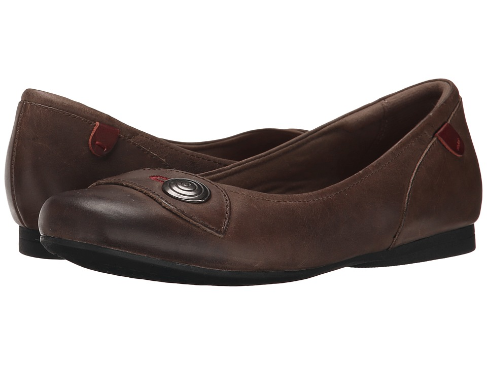 Rockport Cobb Hill Collection - Cobb Hill Emma (Stone) Women's Slip on Shoes