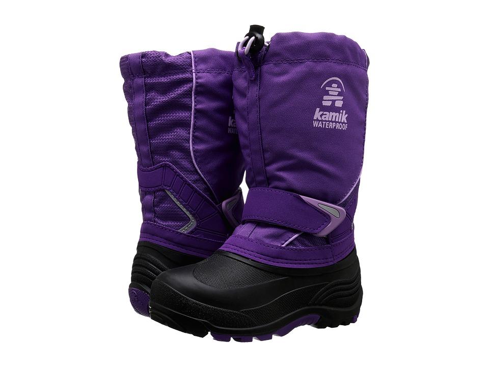Kamik Kids - Sleet (Toddler/Little Kid/Big Kid) (Purple) Girls Shoes