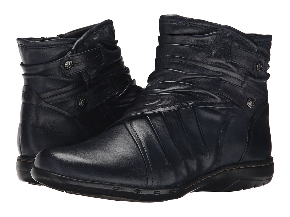 Rockport Cobb Hill Collection - Cobb Hill Pandora (Navy) Women's Pull-on Boots