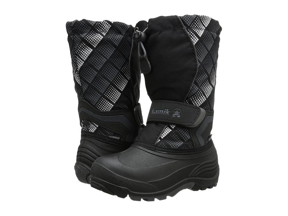 Kamik Kids - Snowbank2 (Toddler/Little Kid/Big Kid) (Black/Charcoal) Boys Shoes