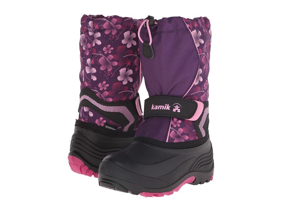 Kamik Kids Snowbank2 (Toddler/Little Kid/Big Kid) (Eggplant/Magenta) Girls Shoes