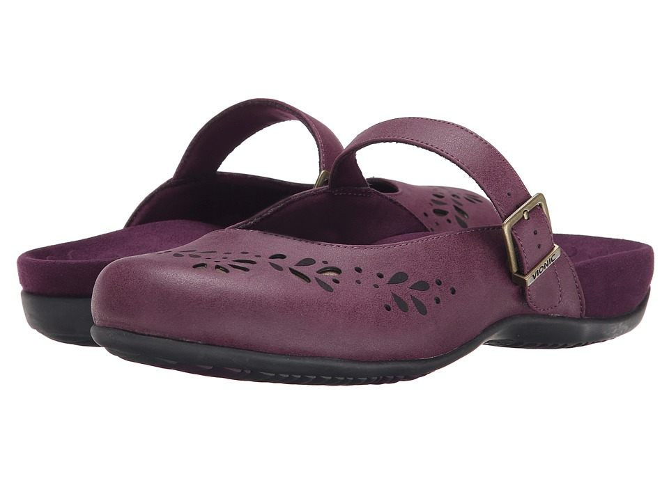 VIONIC - Rest Midway Mary Jane (Plum) Women's Maryjane Shoes