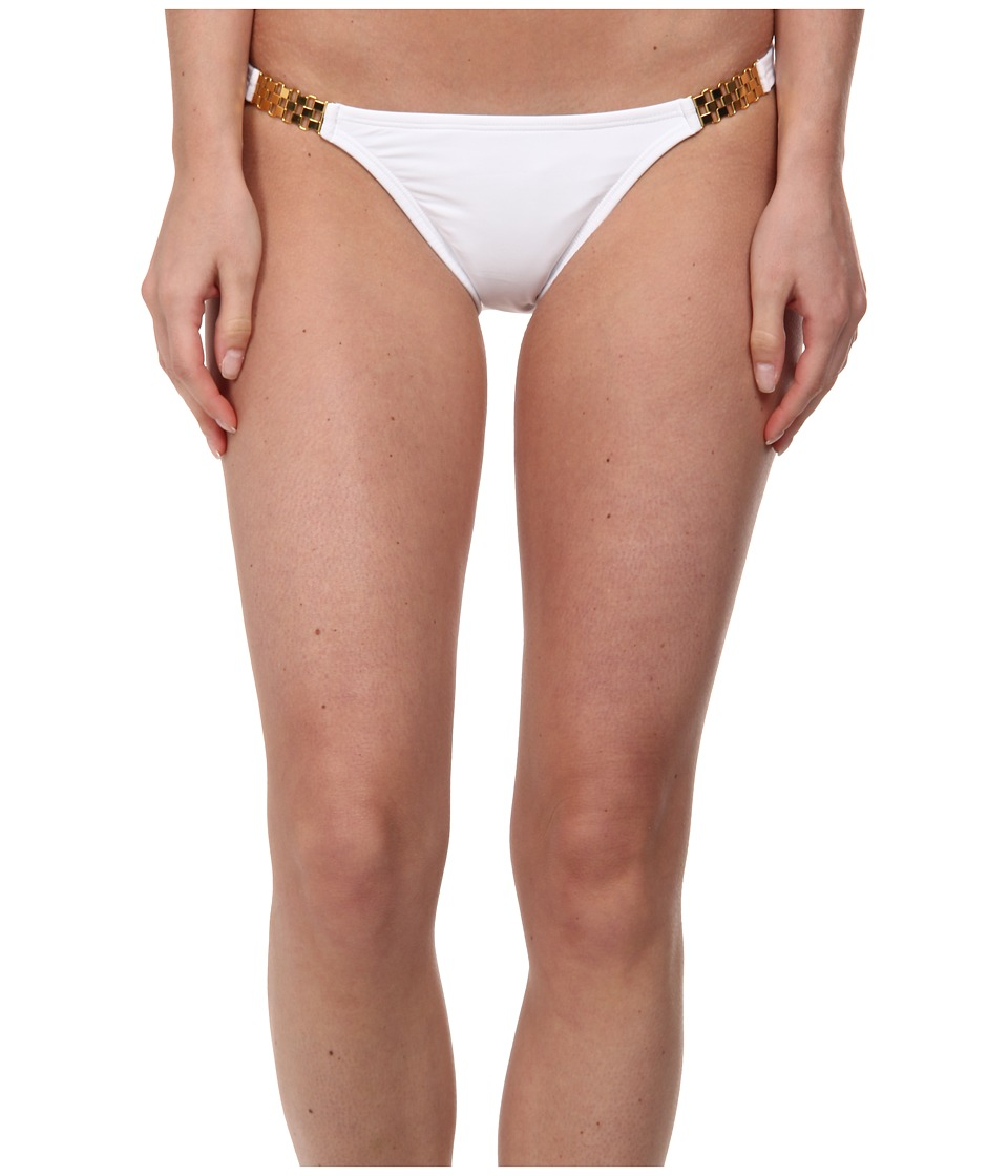 Vix - Solid White Detail Full Bottom (White 2) Women's Swimwear