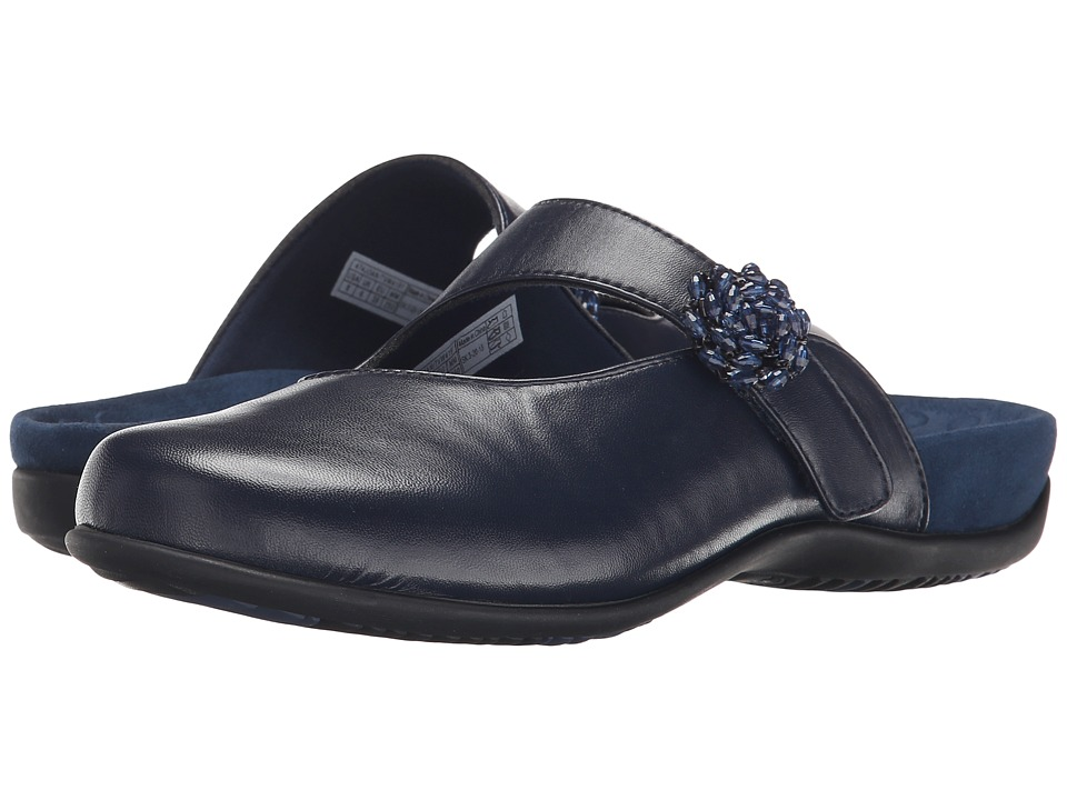VIONIC - Joan Mary Jane Mule (Navy) Women's Clog Shoes