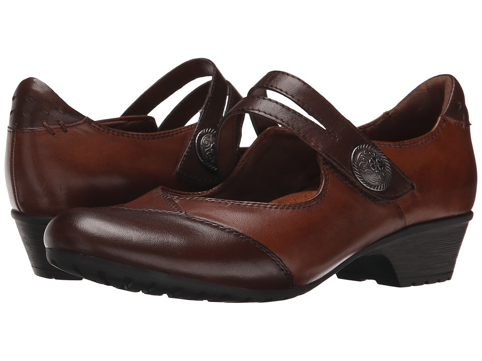 Rockport Cobb Hill Collection - Gemma (Brown Multi) Women's Maryjane Shoes