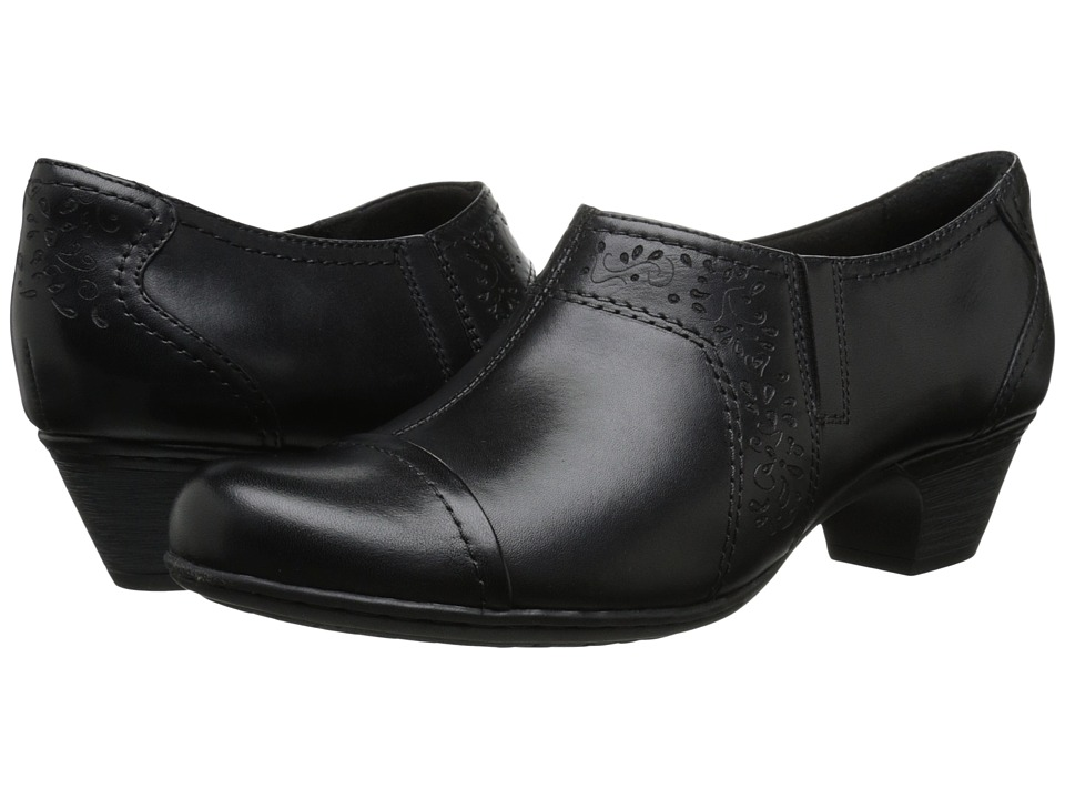 Rockport - Alexis (Black) Women's Slip on Shoes