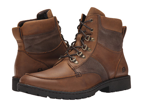 Born - Reeves (Russet/Taupe) Men's Lace-up Boots