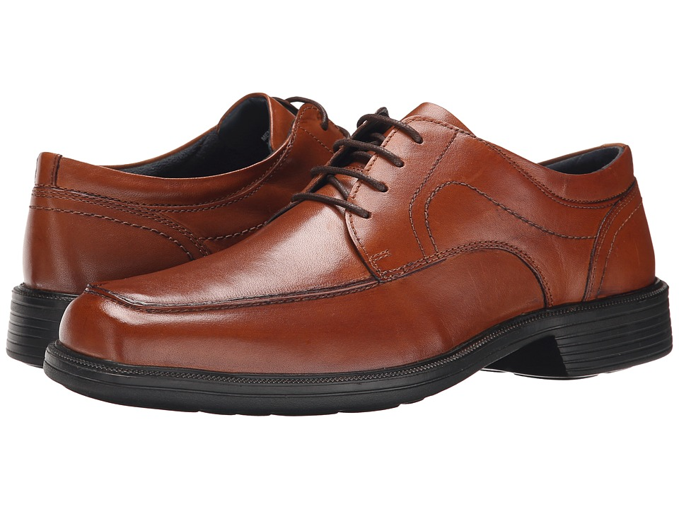 Nunn Bush Chattanooga Moc Toe Oxford (Cognac) Men