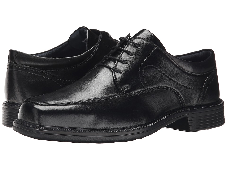 Nunn Bush Chattanooga Moc Toe Oxford (Black) Men